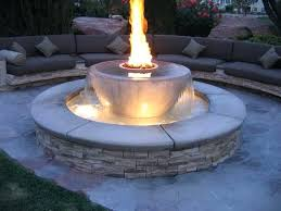 patio gas fire pit how to build outdoor propane fire pit and fountain design natural gas patio gas fire pit