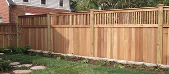 Backyard Fence Design Beauteous Cedar Fence Congleton Lumber Design Center