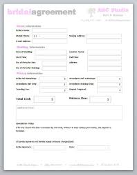 freelance hair stylist makeup artist bridal agreement contract template editable printable word doent 10 makeupartist