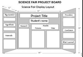How To Set Up A Science Fair Board Cardboard And Foamcore In