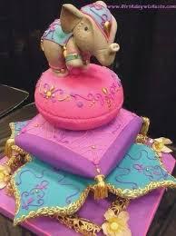 Elephant First Birthday Cake Birthdaycakeforkidscf