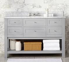 Charming Classic Single Wide Sink Vanity   Gray
