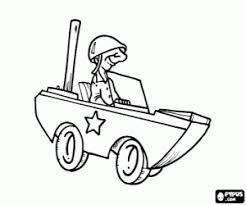 Kleurplaat Militaire Kleine Auto Kleurplaten