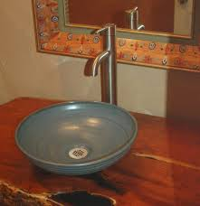 pottery sinks hand made sink artist made sink bowl sink rustic sinks
