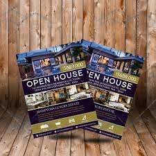 elegant realtor open house flyer real estate listing flyer elegant realtor open house flyer real estate listing flyer custom flyer