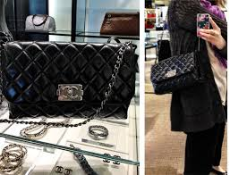 friday finds (sort of) - shopping's my cardio & This is the new Quilted Boy Flap from Chanel's latest accessories  collection. It's pretty fabulous, right? And, don't worry, not as shiny in  person. Adamdwight.com