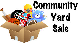 free garage sale signs community yard sale signs clipart