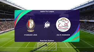 PES 2021 | Standard Liege vs Zulte Waregem - Belgium Jupiler League |  27/09/2020