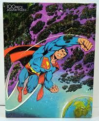 Superman vintage fifteen puzzle