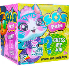 <b>Фигурка</b>-<b>сюрприз</b> Dream Makers SOS PETS <b>Милые зверята</b>