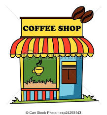 coffee bar clipart. Beautiful Coffee Coffee Shop Eps Vector With Bar Clipart O