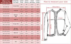 the leather factory size guide
