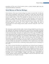 marine biology  2