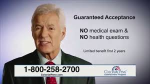 The provider offers life insurance policies in 49 states, the district of columbia, puerto rico and the virgin islands. Colonial Penn Youtube