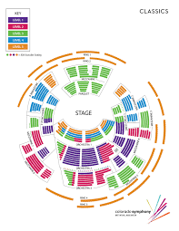 Temple Hoyne Buell Theatre Seating Chart Seating Charts Boettcher Concert Hall