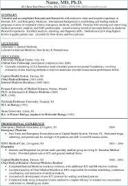 Medical School Resume Samples General Practitioner Sample Resume