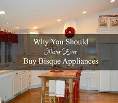 bisque colored appliances. Wonderful Bisque Why You Should Never Buy Bisque Appliances For Colored Exquisitely Unremarkable