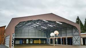 Free garage building plans detached wholesale Roof Free Span All Steel Northwest Metal Garage Buildings Carports In Belfair Wa