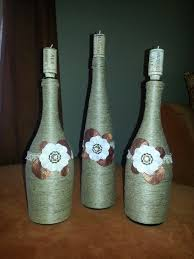 How To Make Decorative Wine Bottles diy decorative wine bottles Diy for the home My homemade wine 2