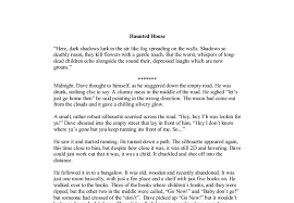 of a haunted house essay description of a haunted house essay