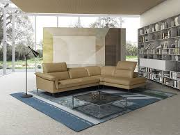 outstanding yellow leather sectional furniture