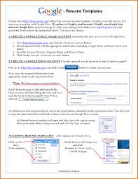 Resume Templates Free Google Docs Najmlaemah Com