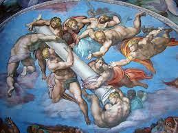 La Capilla Sixtina » Galeria angeles pasion Juicio Final