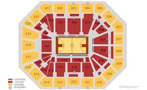 19 Matthew Knight Arena Midcourt Terrace Seating Chart