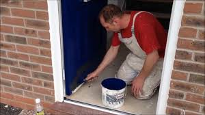 How To how to paint a door with a roller images : How to paint a plastic front door - YouTube