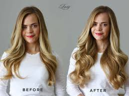 Luxy Hair Style before & after luxy hair 4214 by wearticles.com