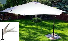patio cantilever patio umbrella best large umbrellas with ideal shade coverage feet offset 11 base