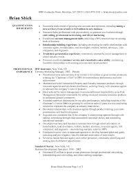 Sales Manager Description Resume Sidemcicek Com