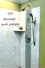 concrete shower walls best of photos plastic wall panels for diy replacement