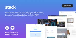 Wordpress Website Templates Stunning Stack MultiPurpose WordPress Theme With Variant Page Builder