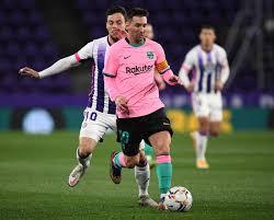 Messi è di nuovo felice e il Barcellona vola: 3-0 a Valladolid