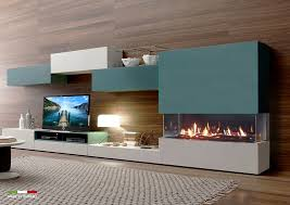 venezia f wall 3 sided view gas fireplaces built in insert