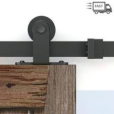 vine barn doors top mounted rustic black sliding door hardware old style rollers