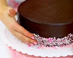 Decorating With Sprinkles Video The Best Chocolate Cake With Chocolate Frosting Lindsay