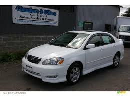 toyota corolla 2005 white. Perfect 2005 Super White Toyota Corolla Inside 2005 O