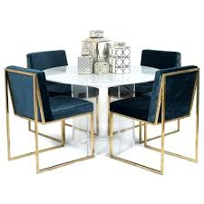 dining table with hexagon base gold kitchen black and modern tables gold dining room table