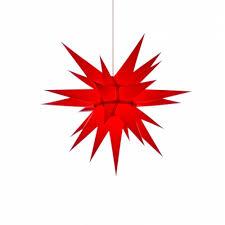 Herrnhuter Weihnachtsstern I6 Rot Mit Beleuchtung