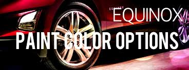 2019 Chevy Equinox Color Chart 2018 Chevy Equinox Paint Color Options