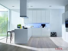 White Gloss Kitchen Designs Kitchen Contemporary Kitchen Cabinets White 1000 Ideas About