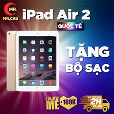 TOP Máy tính bảng Apple IPAD AIR 2 (Bản 4G + WIFI Máy Zin Ram 2G Chip A8X  mạnh mẽ Màn 9.7 inch full HD Cảm biến vân tay chính hãng 5,980,000đ