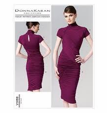 Designer Sewing Patterns Simple V48 Vogue American Designer Donna Karan Dress Sewing Pattern