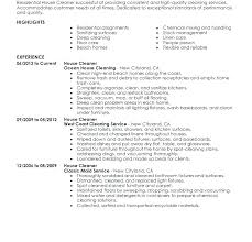 Dry Cleaner Resume Cleaner Sample Resume Download House Cleaning Inspiration House Cleaning Resume