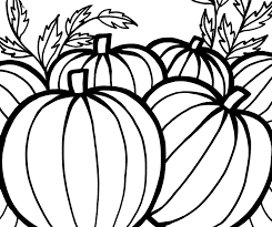 Small Picture Pumpkins Coloring Pages To Celebrate Thanksgiving Fantasy