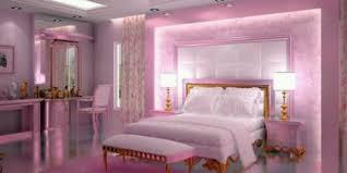 Schlafzimmer Bettbank Gepolsterte Wand Rosa Schlafzimmer ...