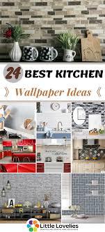 24 Kitchen Wallpaper Ideas To Make It ...