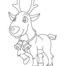 Small Picture Reindeer head coloring pages Hellokidscom